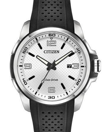 Citizen Eco-Drive AR Silver Dial