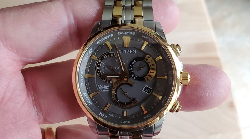 Citizen Watch – Eco-Drive Perpetual Calendar